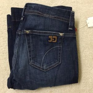 NWT joe's jeans flare leg dark blue stretch Ryder